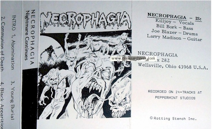 Necrophagia Power Through Darkness